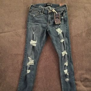 Hollister California Super Skinny Distressed Jeans
